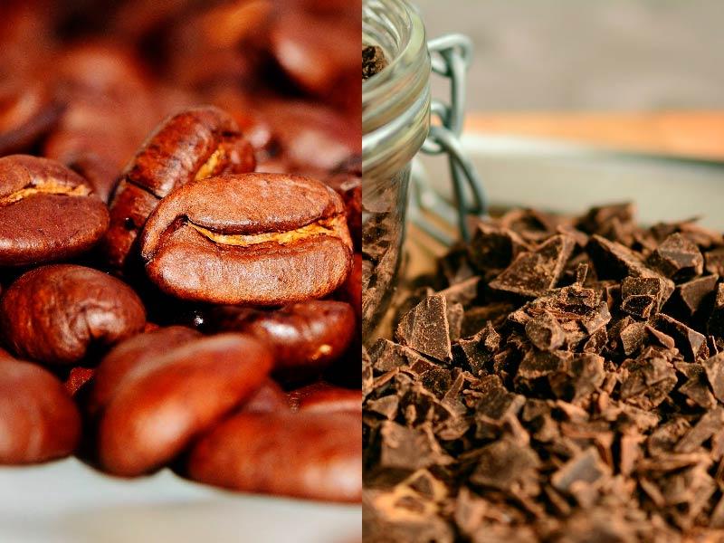 кофе и шоколод